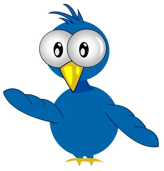 532x555 Bird Clipart Cartoon