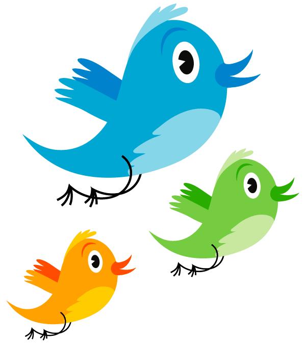 600x675 Cute Twitter Bird Vector Image Free Vectors Clip Art