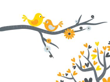 375x281 Love Birds Love Bird Clip Art Clipart Free To Use Clip Art