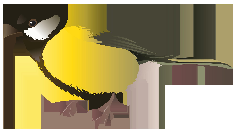 3000x1646 Yellow Bird Png Clipart