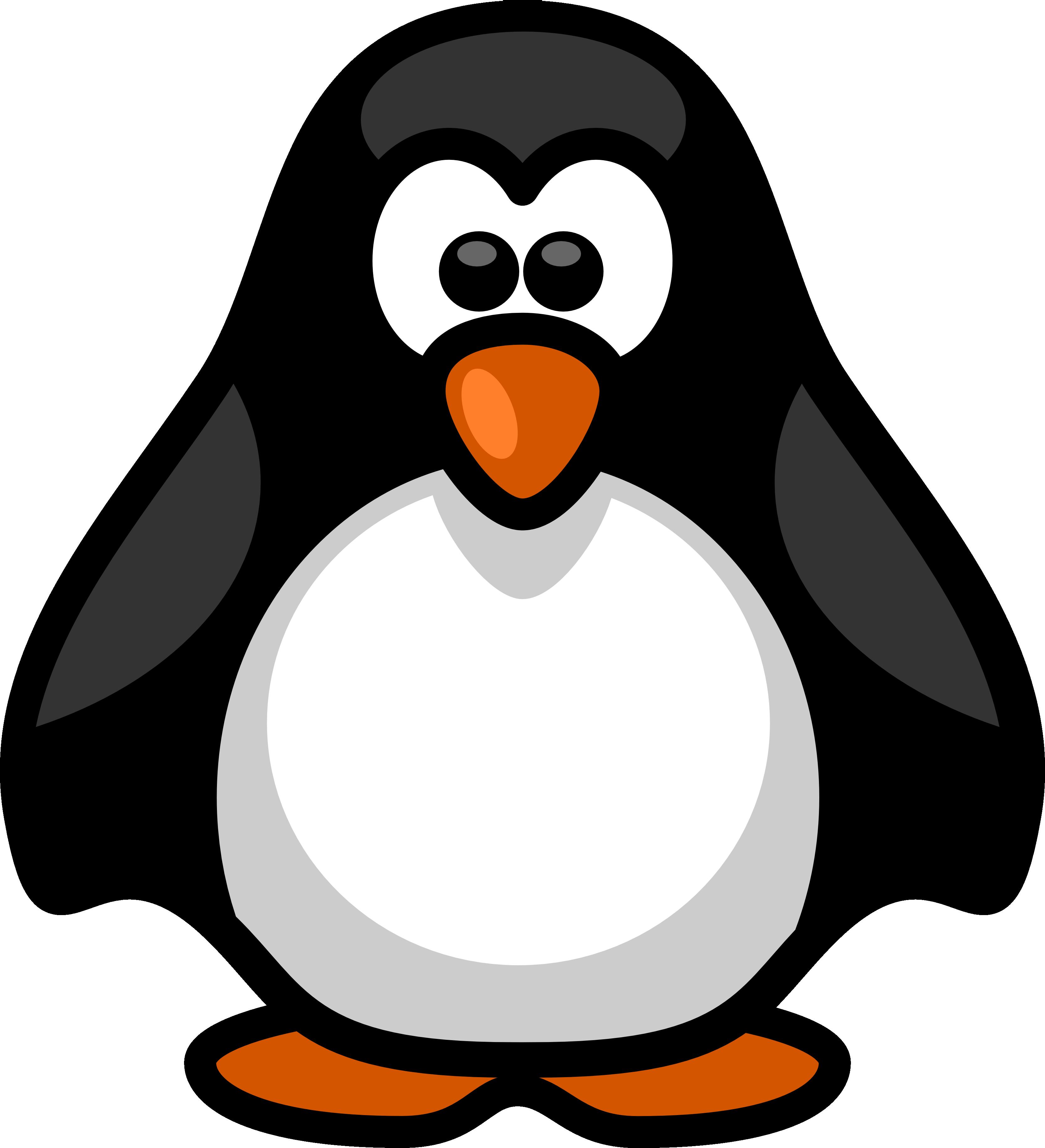 3333x3662 Penguin Clipart Transparent Background