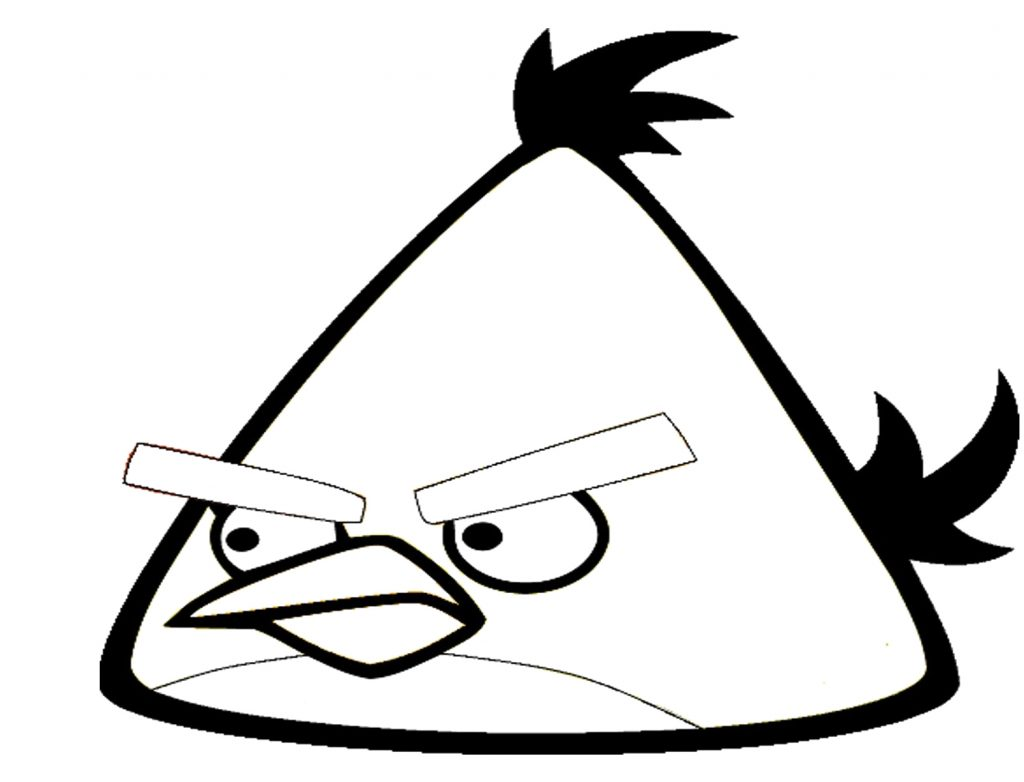 1024x782 Adult ~ Angry Bird Coloring Pages Printable Angry Birds For Kids