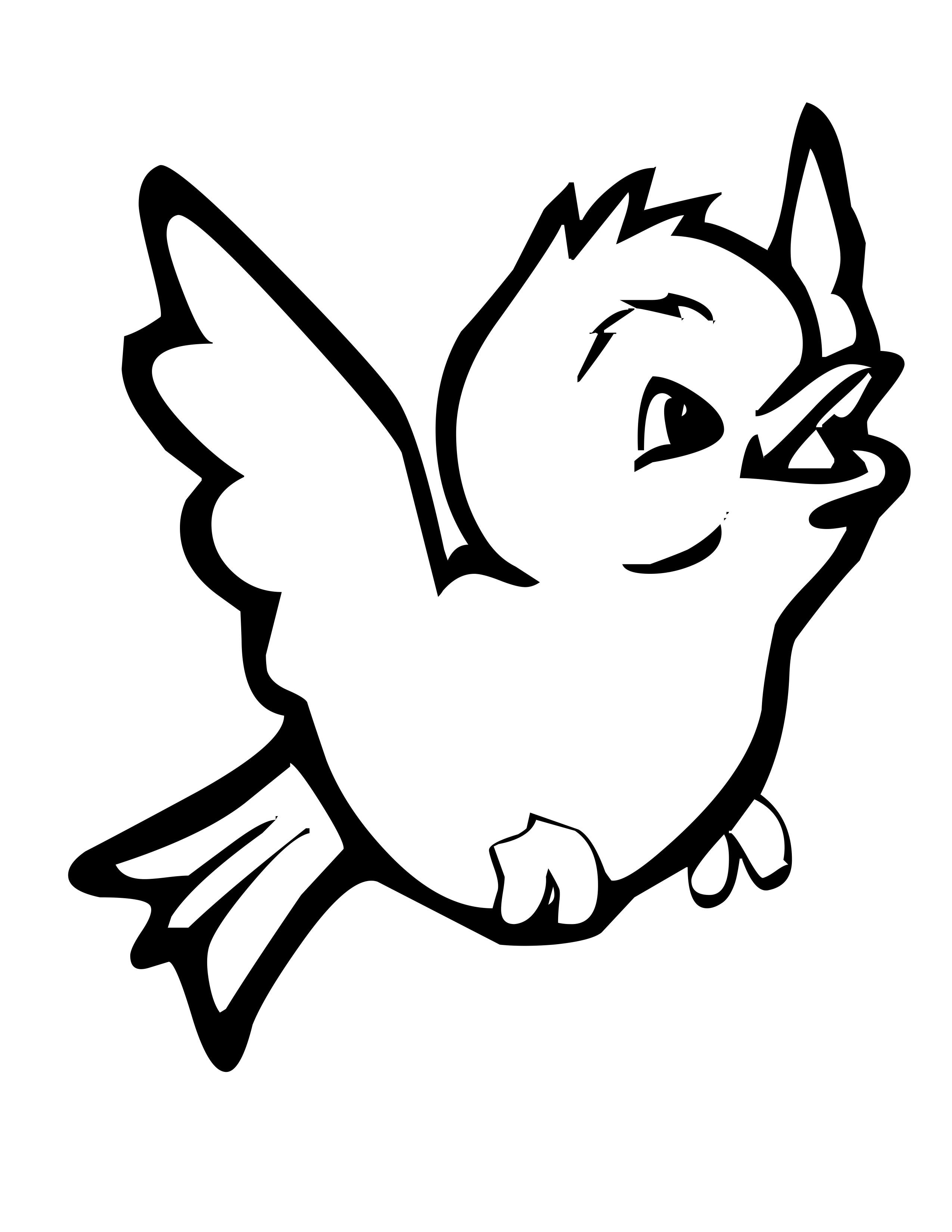 2550x3300 Bird Coloring Pages (6)