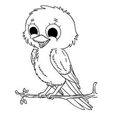 230x230 Top 20 Free Printable Bird Coloring Pages Online