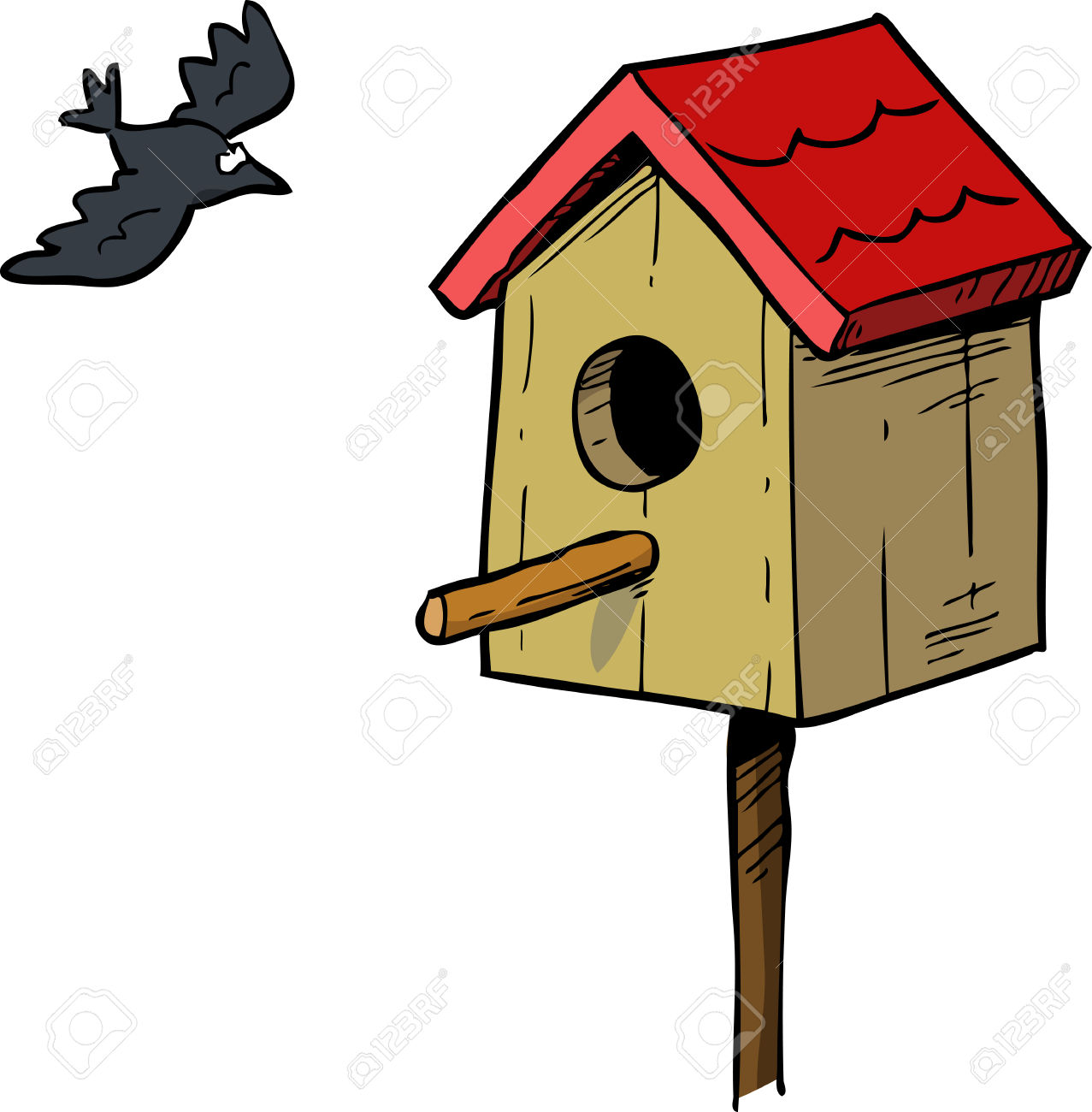 1277x1300 Bird House Clipart Pet Bird