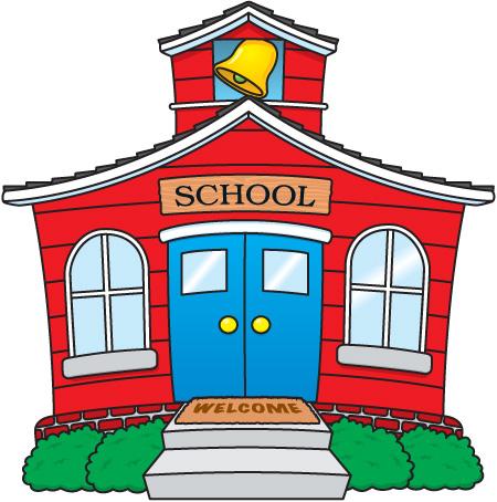 450x454 Clip Art School House Many Interesting Cliparts