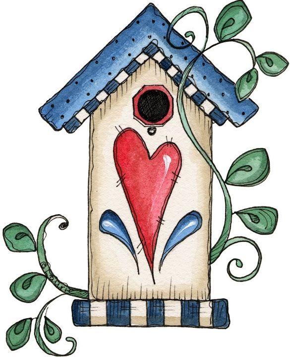 585x720 328 Best Bird Abode Amp Feeder Art Images Cards