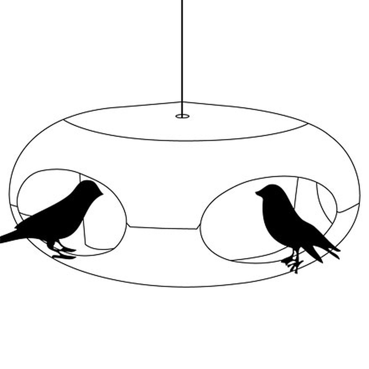 1200x1200 Pip] Bird Feeder By Koziol In The Shop