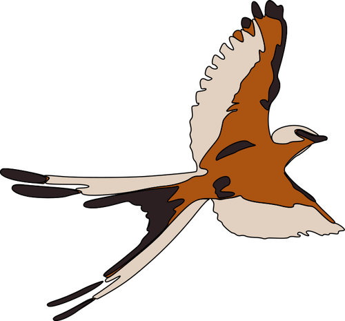 Bird Flying Clipart