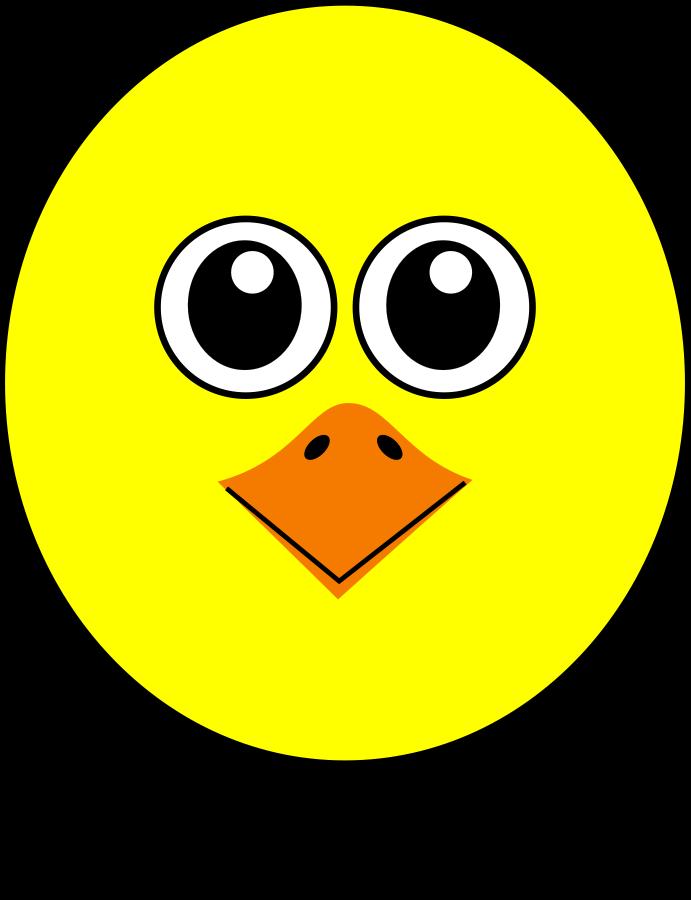 691x900 Bird Face Clip Art Clipart Panda