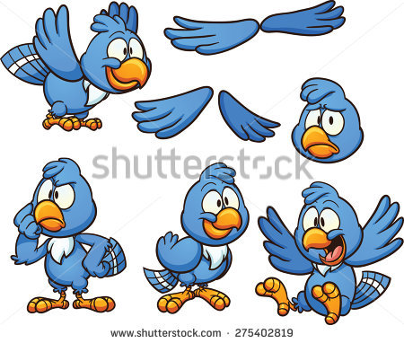 450x382 Bluebird Clipart Bird Head