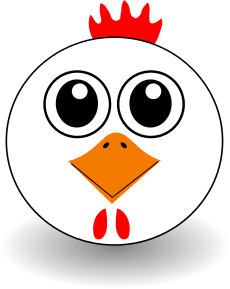 230x289 Chicken Head Cartoon Clip Art Download