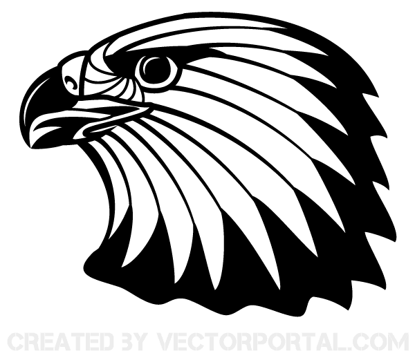600x521 Free Image Of Eagle Head Clip Art 123freevectors