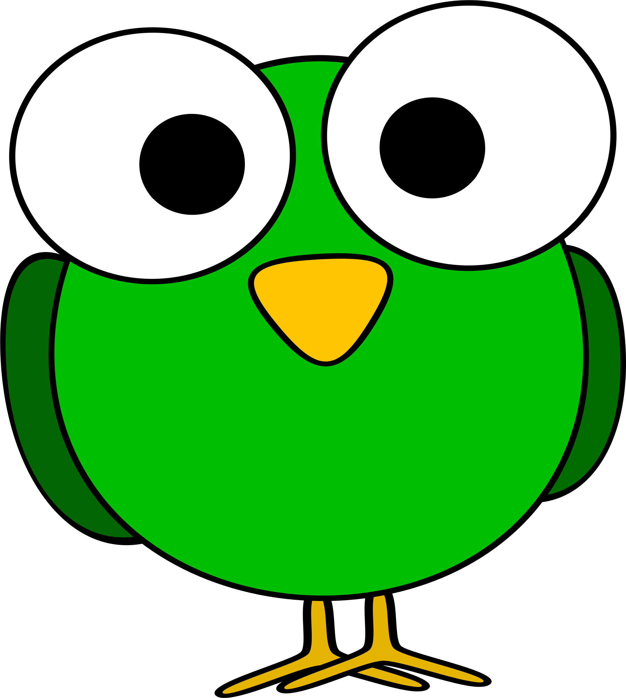 1994x2224 Green Clipart Bird