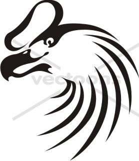 278x320 Swish Style Andean Condor Bird Icon Logo