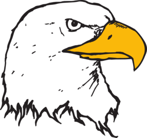 300x282 Bald Eagle Head Clip Art