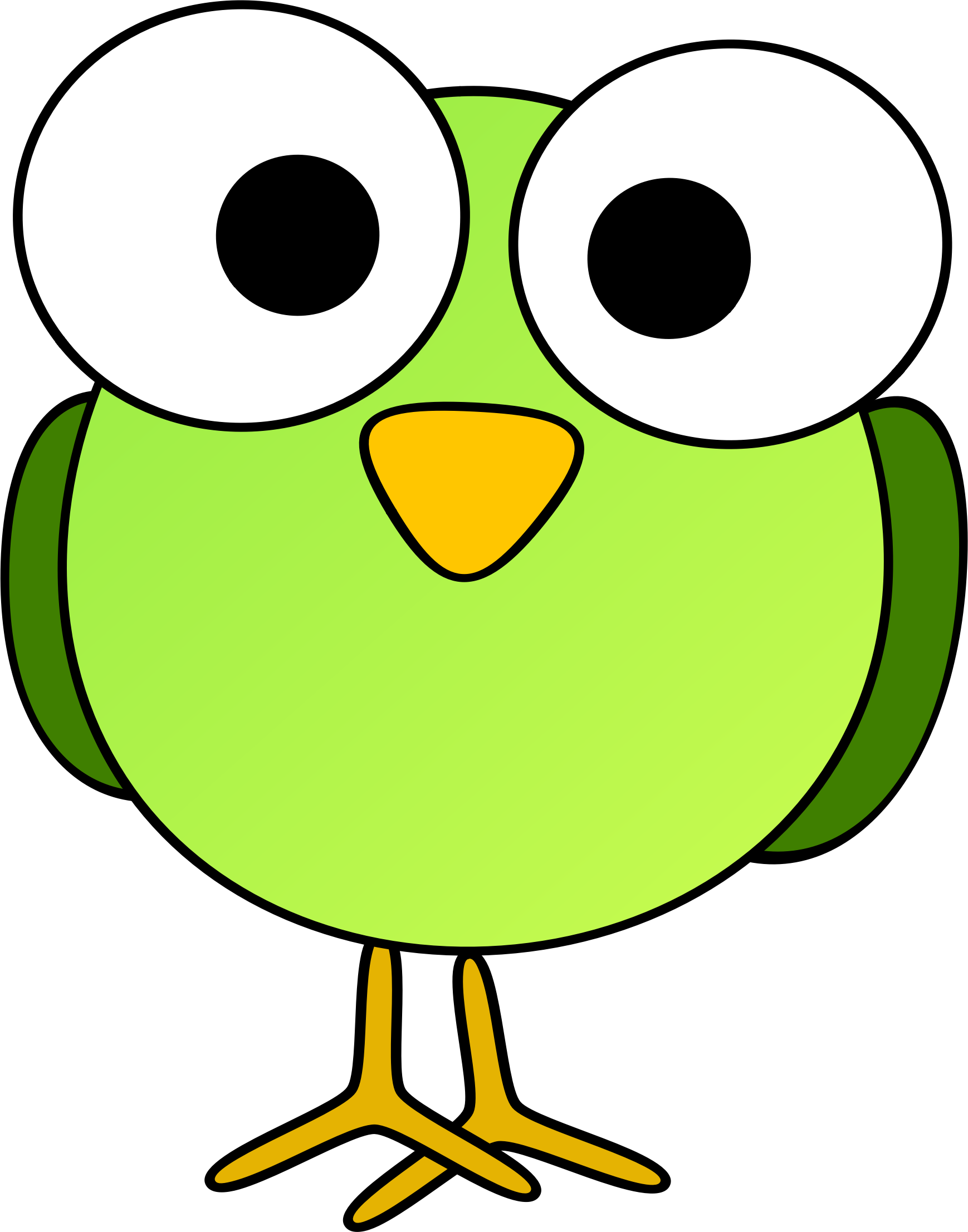 1738x2213 Big Bird Clipart