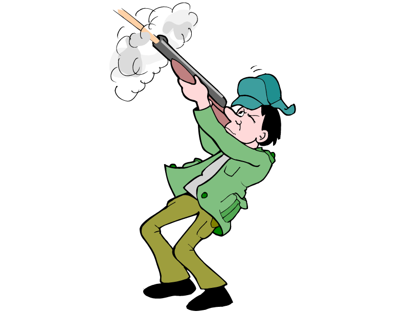 792x612 Hunting Cartoons Clip Art