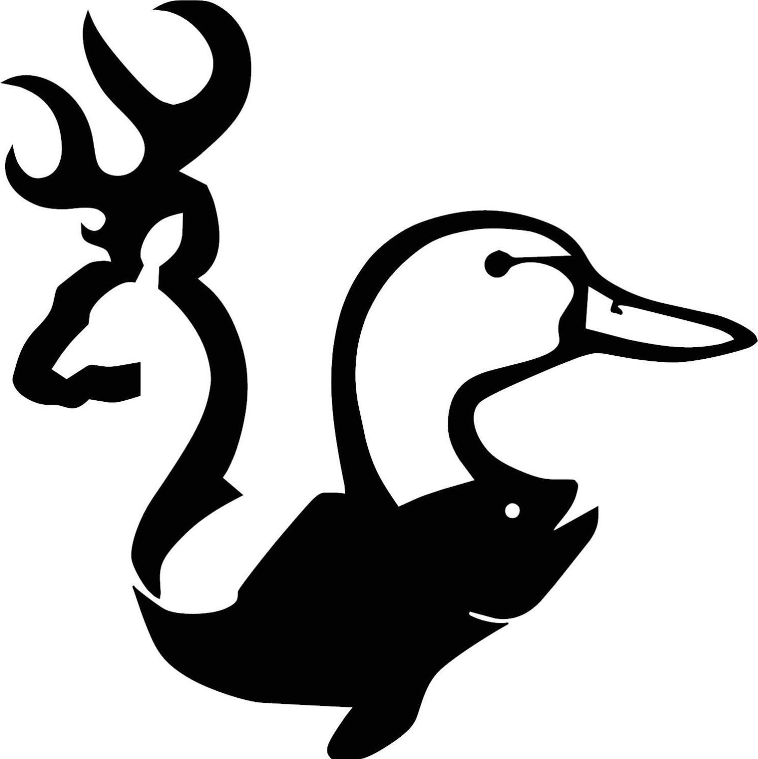1498x1500 Best Free Deer Clipart Duck Hunting Pictures