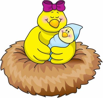 Bird In Nest Clipart