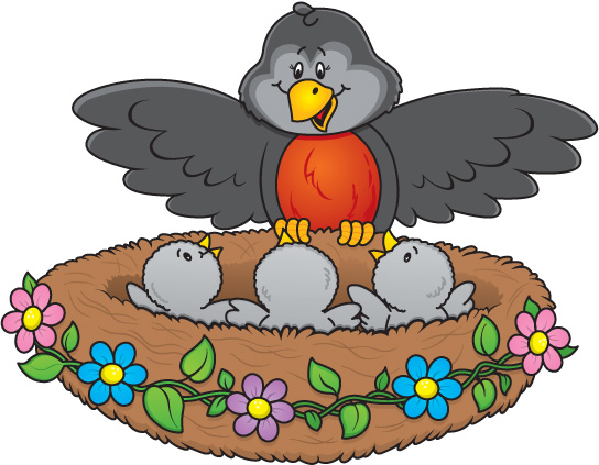 544x423 Bird Nest Clip Art