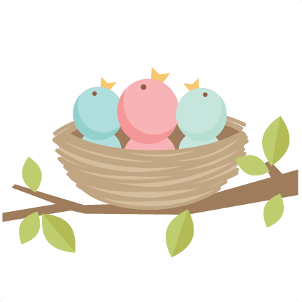 432x432 Baby Bird On Branch Clip Art By downloading our digital files