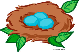 272x182 Bird Nest Vector Clip Art Id 45317 Clipart Pictures