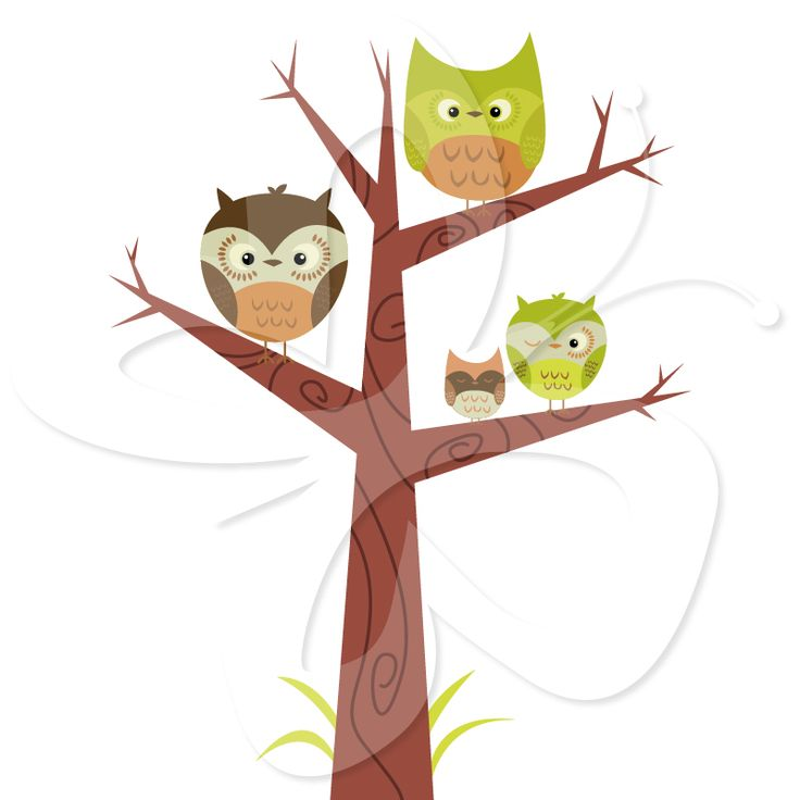 Bird In Tree Clipart