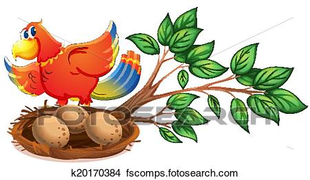 450x261 Clipart Of A Colourful Bird