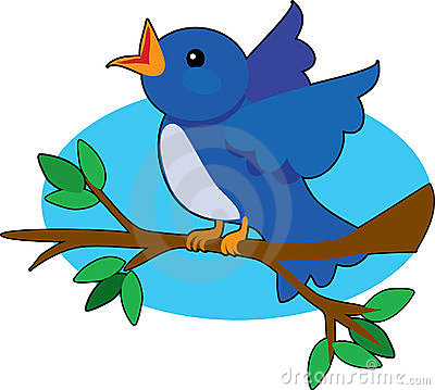 400x359 Nest Clipart Blue Bird