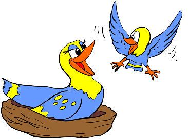 366x272 Empty Bird Nest Cartoon Clipart Panda