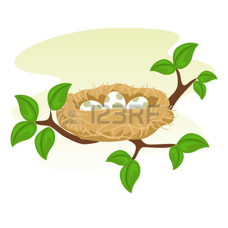 450x450 Mother Bird With Babies Royalty Free Cliparts, Vectors, And Stock