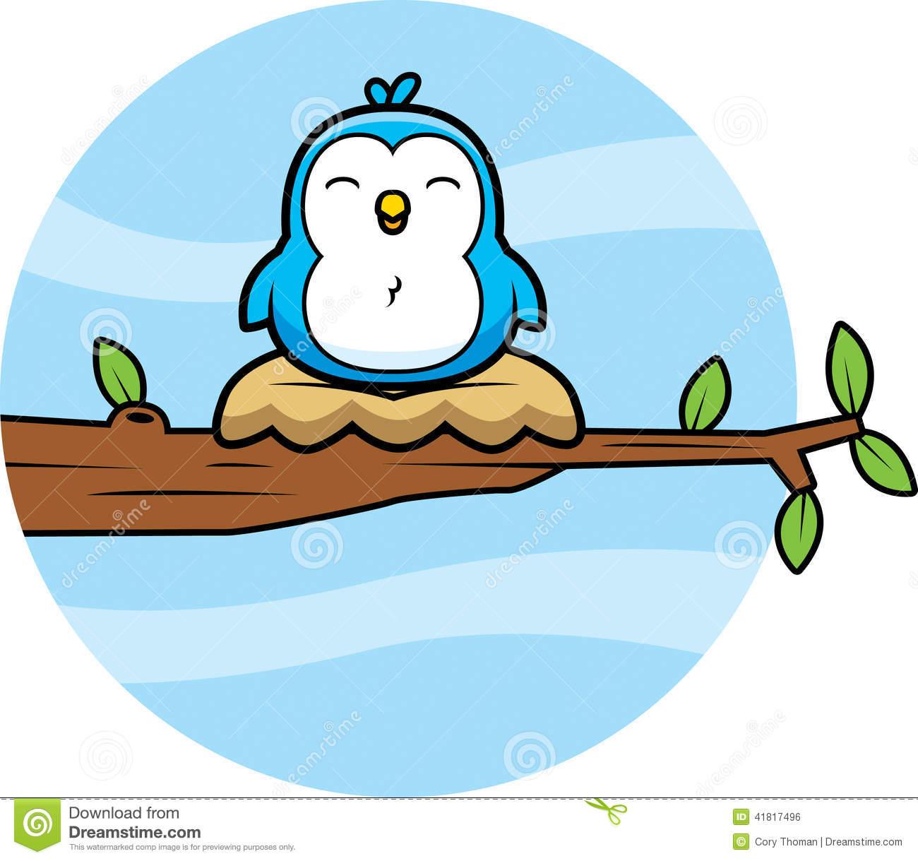 1300x1219 Nest Clipart Blue Bird