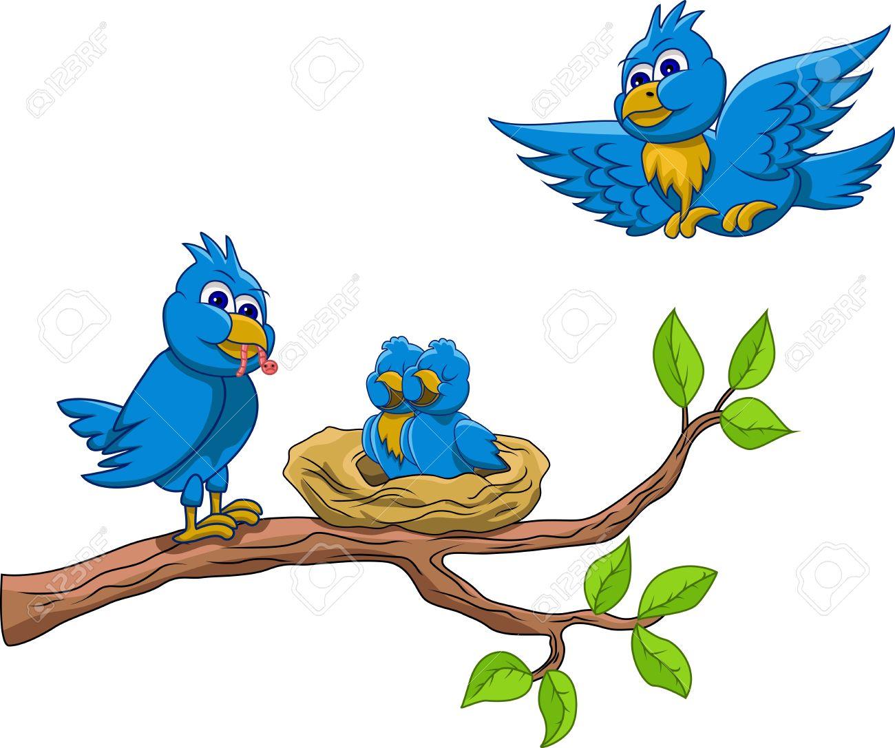1300x1087 Bird's Nest Clipart Cartoon