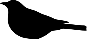 298x189 Clipart Bird Black And White Clipart Panda