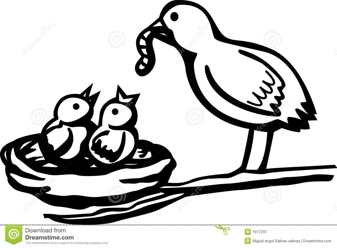 1300x958 Bird's Nest Clipart Mother Bird