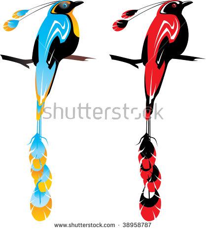 418x470 Birds Of Paradise Clipart