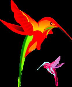 249x300 Kaleidoscope Bird Clip Art