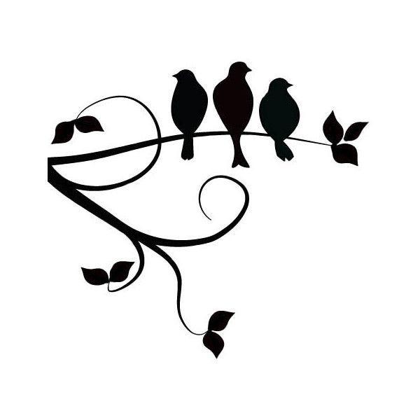 Bird On Branch Clip Art