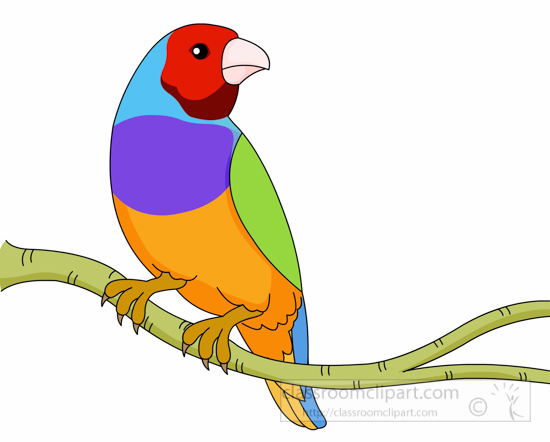 Bird On Tree Clipart