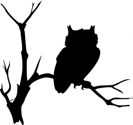425x400 Bird Tree Silhouette Clip Art Free Vector For Free Download (About