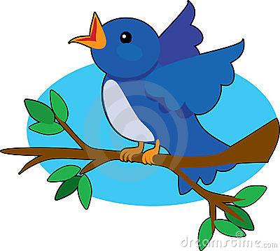400x359 Nest Clipart Blue Bird