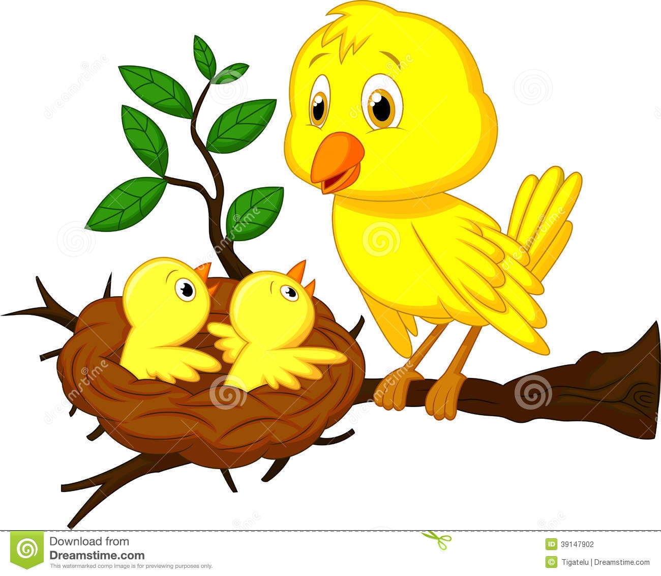 Bird On Tree Clipart Free Download Best Bird On Tree Clipart On
