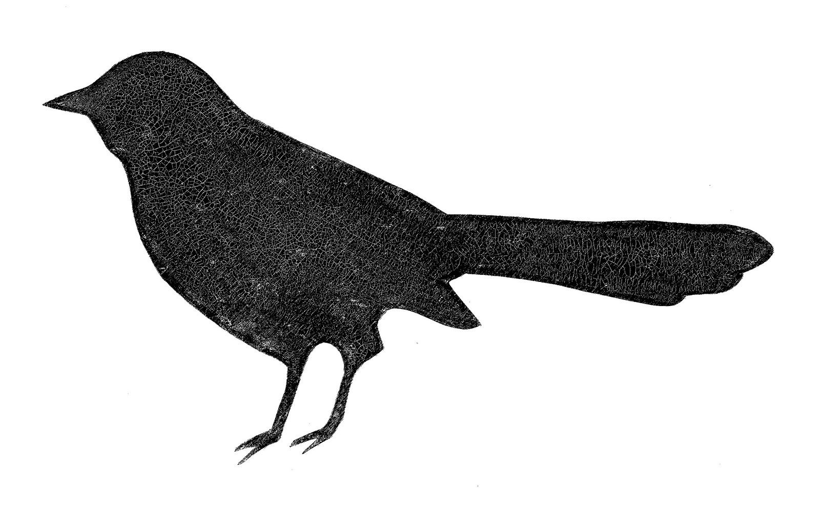 1600x993 Bird Silhouette Clip Art Clipart Image