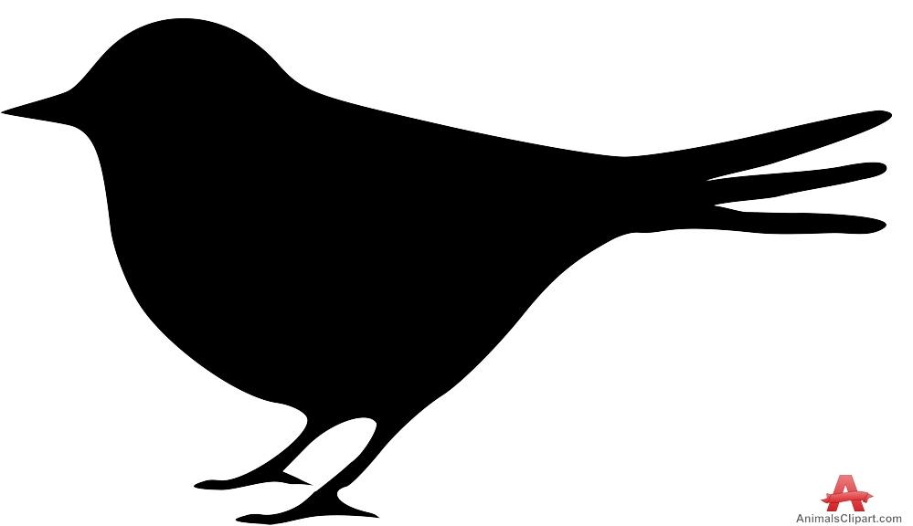 999x576 Small Bird Silhouette Free Clipart Design Download