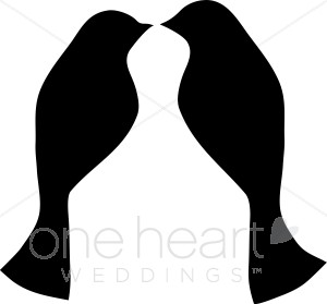 300x279 Lovebird Clip Art Wedding Bird And Butterfly Clipart