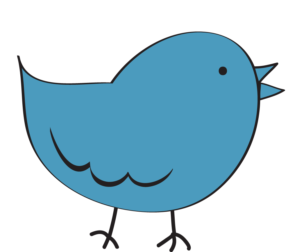 991x867 Bird Clipart Image Clip Art Cartoon Of A Blue Bird Standing Up 2