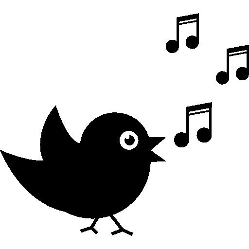 512x512 Blackbird Clipart Bird Singing