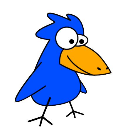 426x458 Cute Blue Bird Clip Art Free Clip Art Birds Clip Clipartix 2