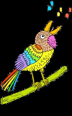 249x400 Image Singing Bird
